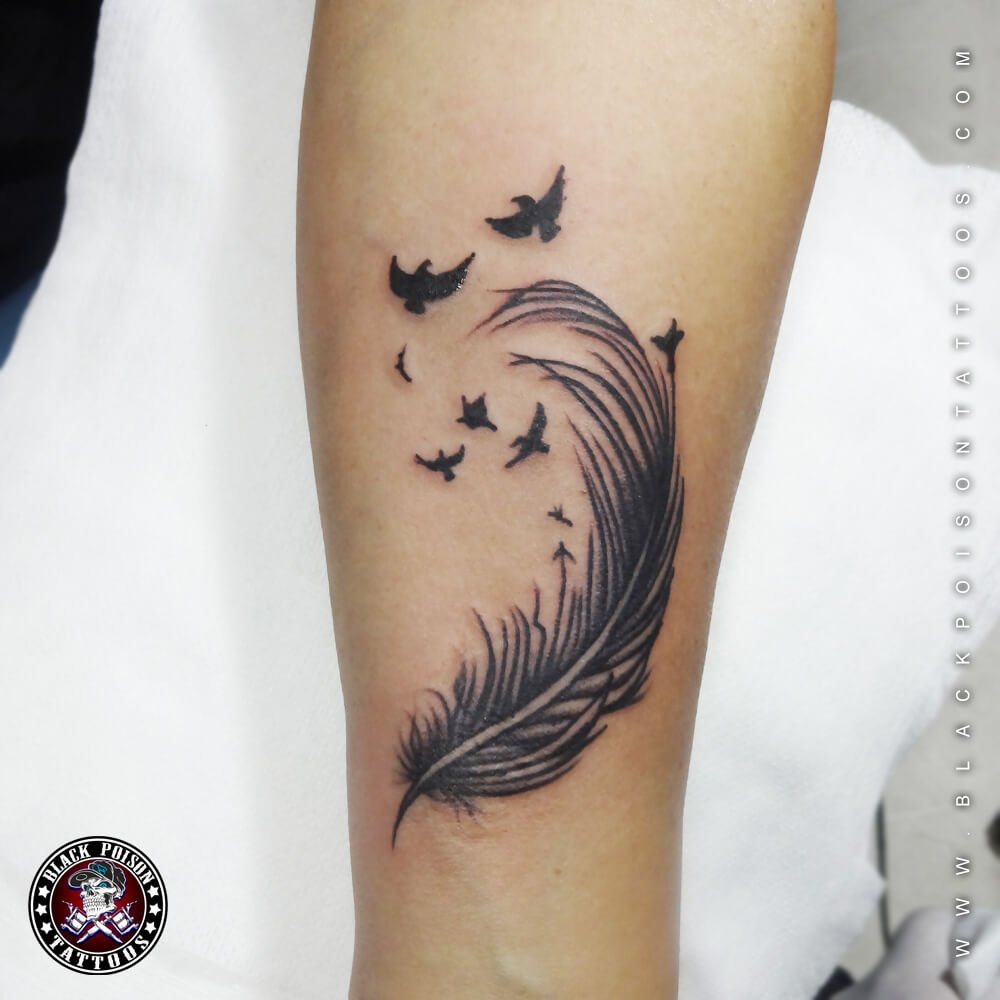 Feathers Tattoo Archives Black Poison Tattoo Studio Ideas And Designs