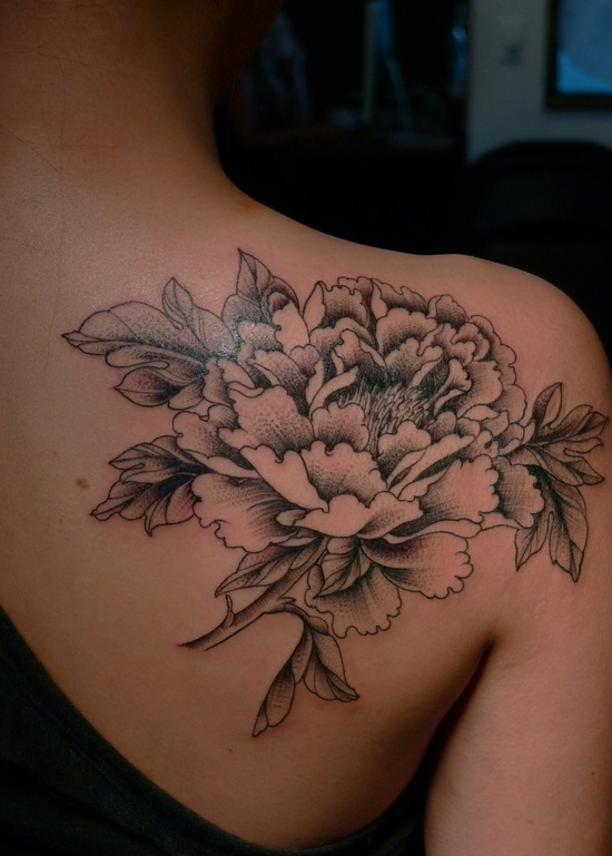 Large Flower Shoulder Tattoo Favething Com Ideas And Designs