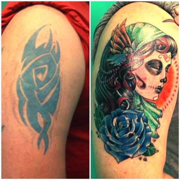 55 Cover Up Tattoos Impressive Before After Photos Ideas And Designs
