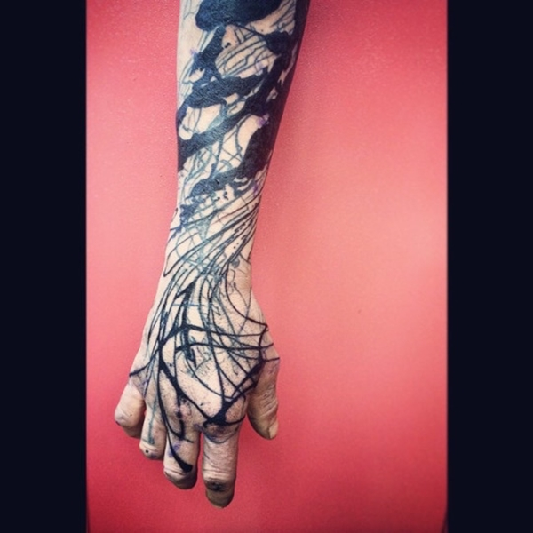 94 Abstract Tattoos That Prove Art Is Extremely Subjective Ideas And Designs