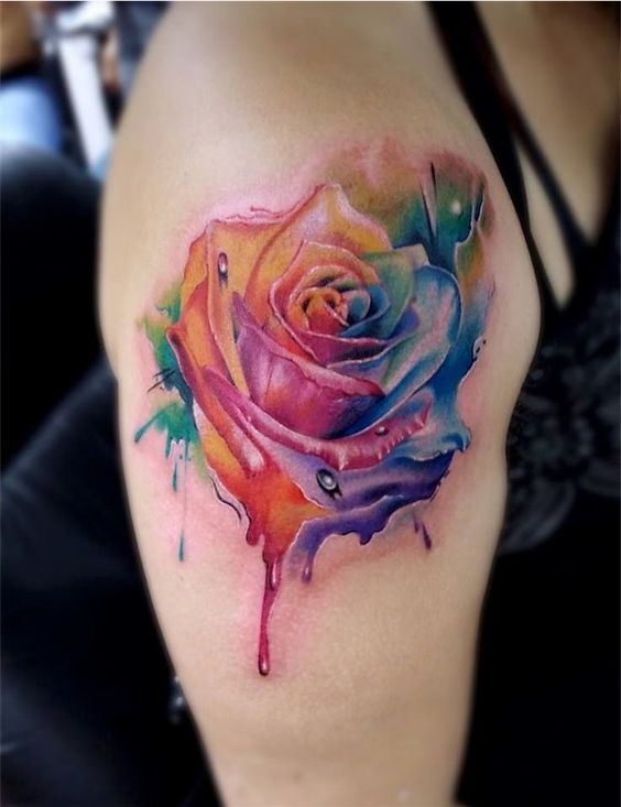 69 Graceful Roses Shoulder Tattoos Ideas And Designs