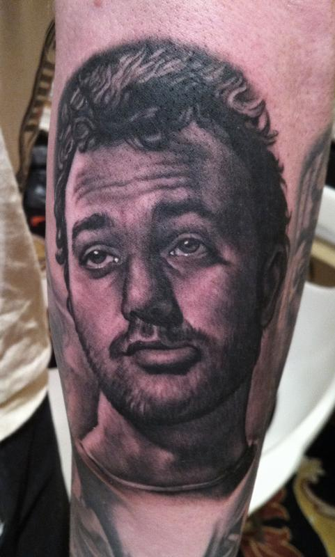 Bill Murray By Bob Tyrrell Tattoos Ideas And Designs
