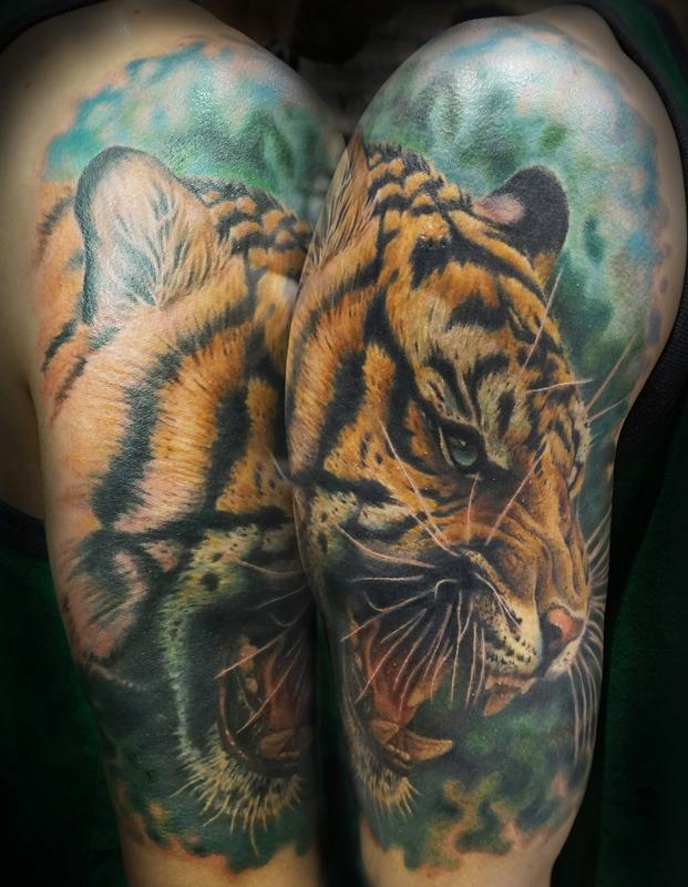 A Minds Eye Tattoo Tattoos Tyler Andrews Tiger Ideas And Designs