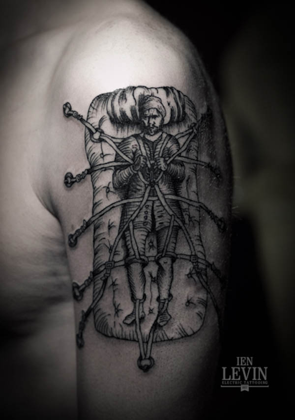 Illustrative Tattoo Designs By Ien Levin Ideas And Designs