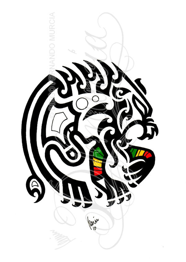 Tribal Rasta Lion By Dfmurcia On Deviantart Ideas And Designs