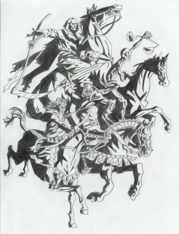 The Four Horsemen By Certifiednerd On Deviantart Ideas And Designs