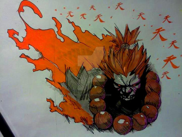 Akuma Chest Piece Tattoo Design By Grool7777777 On Deviantart Ideas And Designs