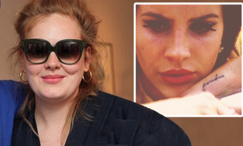 Adele Shows Off Paradise Tattoo On Her Hand An Almost Ideas And Designs