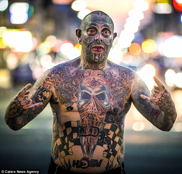 Tattboy Holden Covers 90 Of His Body With Tattoos Daily Ideas And Designs