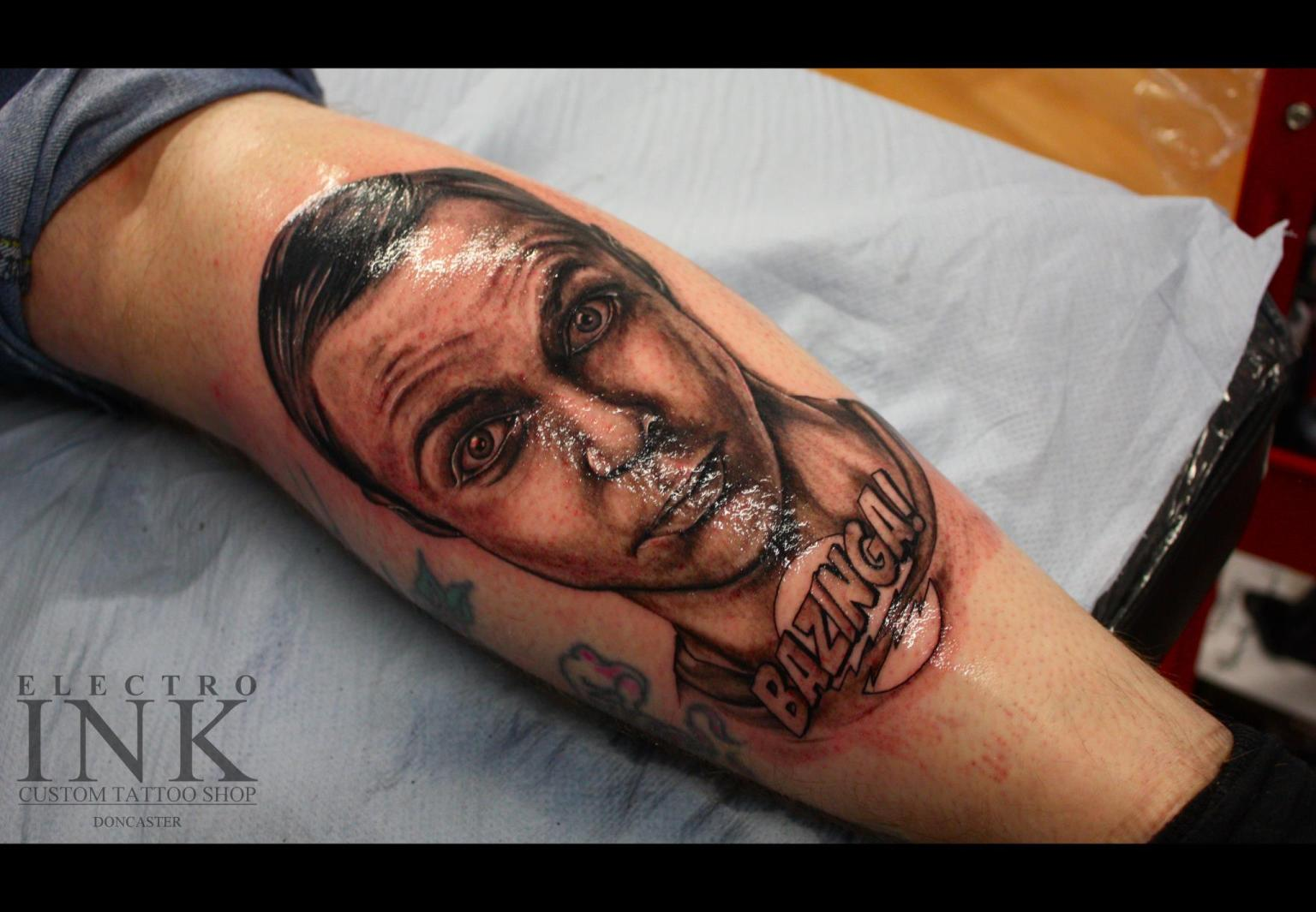 The Big Bang Theory Tattoo Sheldon Cooper Takes Over A Ideas And Designs