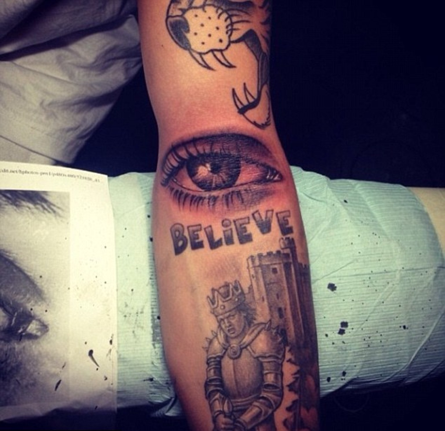 Justin Bieber S New Tattoo Is Eye Popping Photo Ideas And Designs