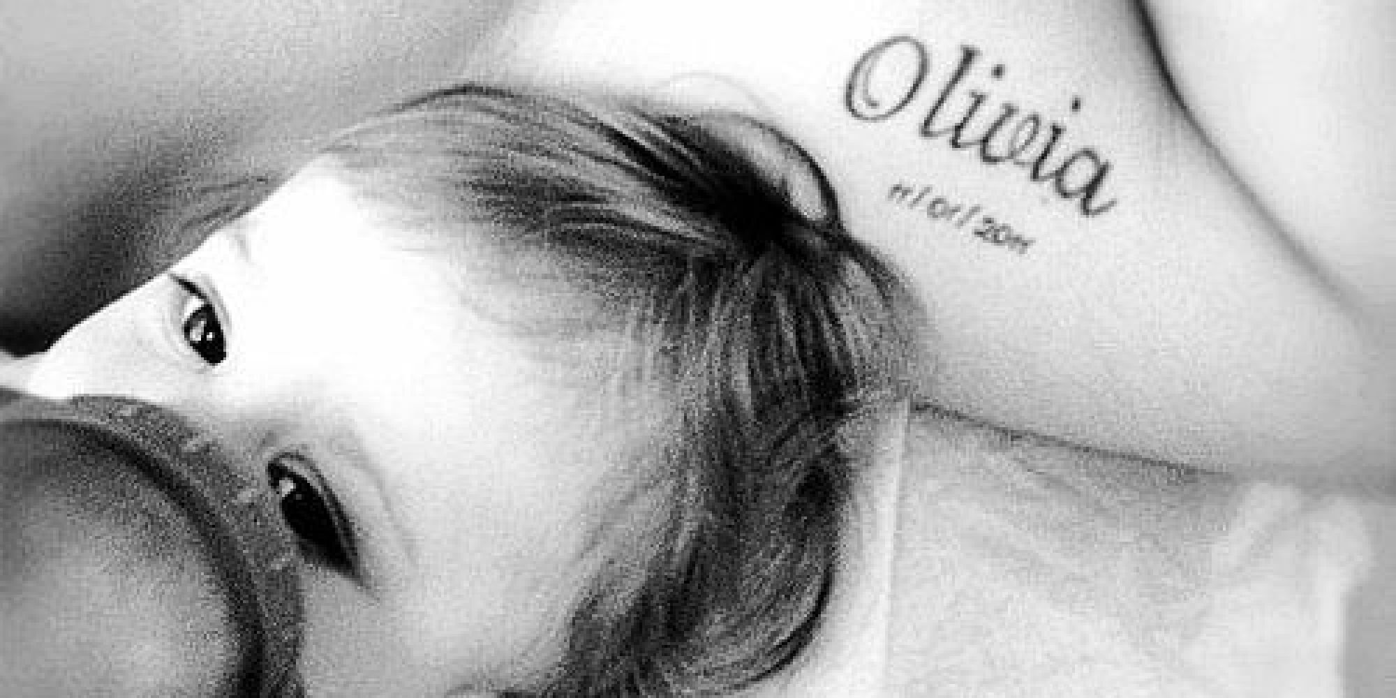 Baby Name Tattoos You Ll Fall In Love With Ideas And Designs