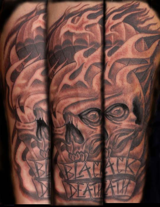 Skull Tattoo Ybor City 1603 Tattoo Tampa Josh Schellenberg Ideas And Designs