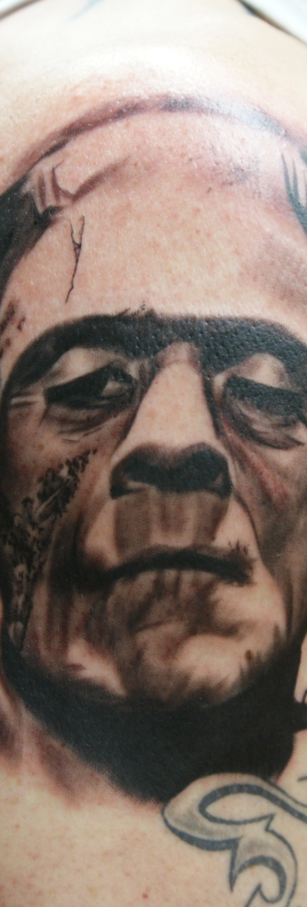 Frankenstien Portrait Best Portrait Tattoo Artist Tampa Ideas And Designs
