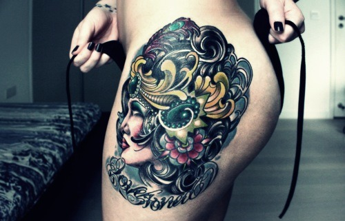 My Next Tattoo Will Be A Big Upper Thigh Piece The Ideas And Designs