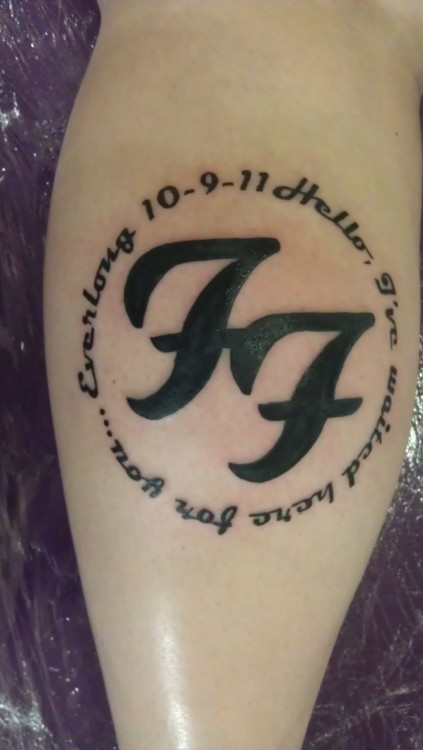 I've Been A Huge Foo Fighters Fan Since 1995 When Foo Ideas And Designs