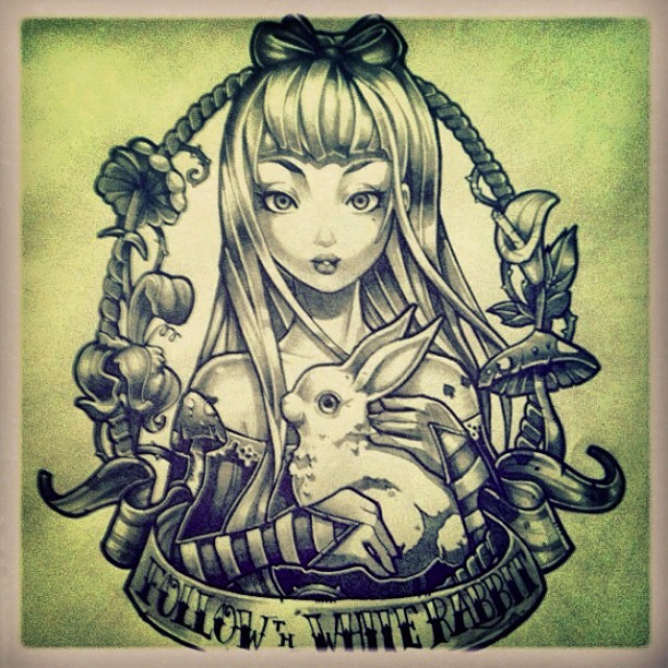 Tim Shumate Illustrations — Alice In Wonderland Sketch Ideas And Designs