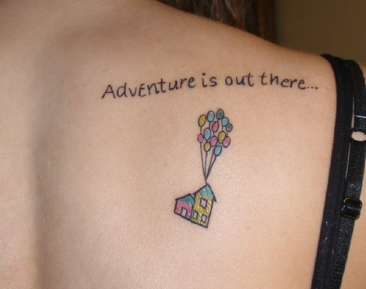 Completely Awesome Disney Tattoos Part Of Your World Guff Ideas And Designs