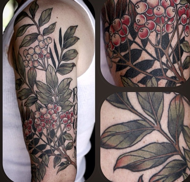 Beautiful Flower Tattoo By Alice Kendall Design Of Ideas And Designs