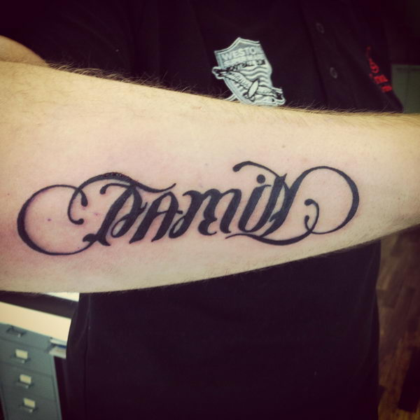 40 Cool Ambigram Tattoo Ideas Hative Ideas And Designs