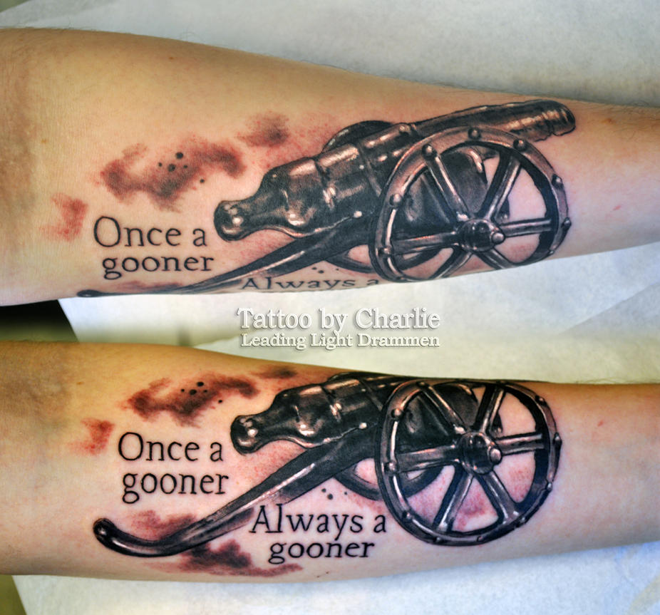 Cannon Tattoo By Gettattoo On Deviantart Ideas And Designs