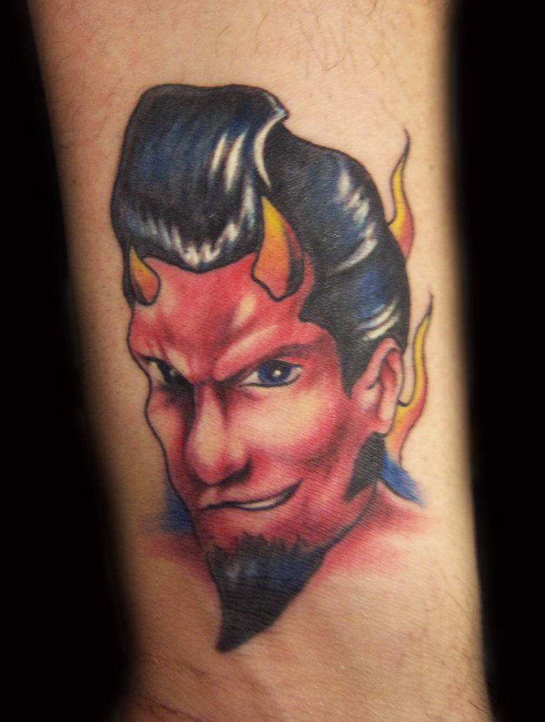 1950 S Devil Tattoo By Hatefulss On Deviantart Ideas And Designs