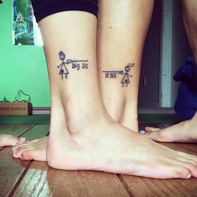 69 Sister Tattoos To Show That Special Bond Between Two Ideas And Designs