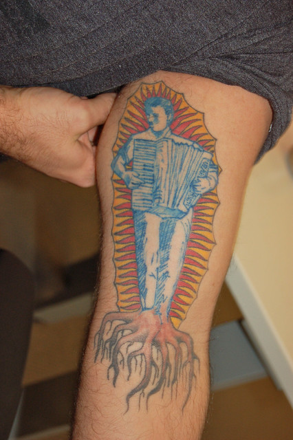 Accordion Tattoo Flickr Photo Sharing Ideas And Designs