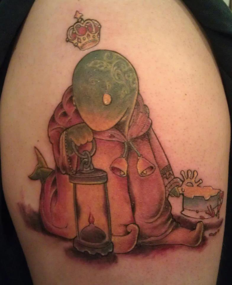 Tonberry King Tattoo By 2Barquack On Deviantart Ideas And Designs