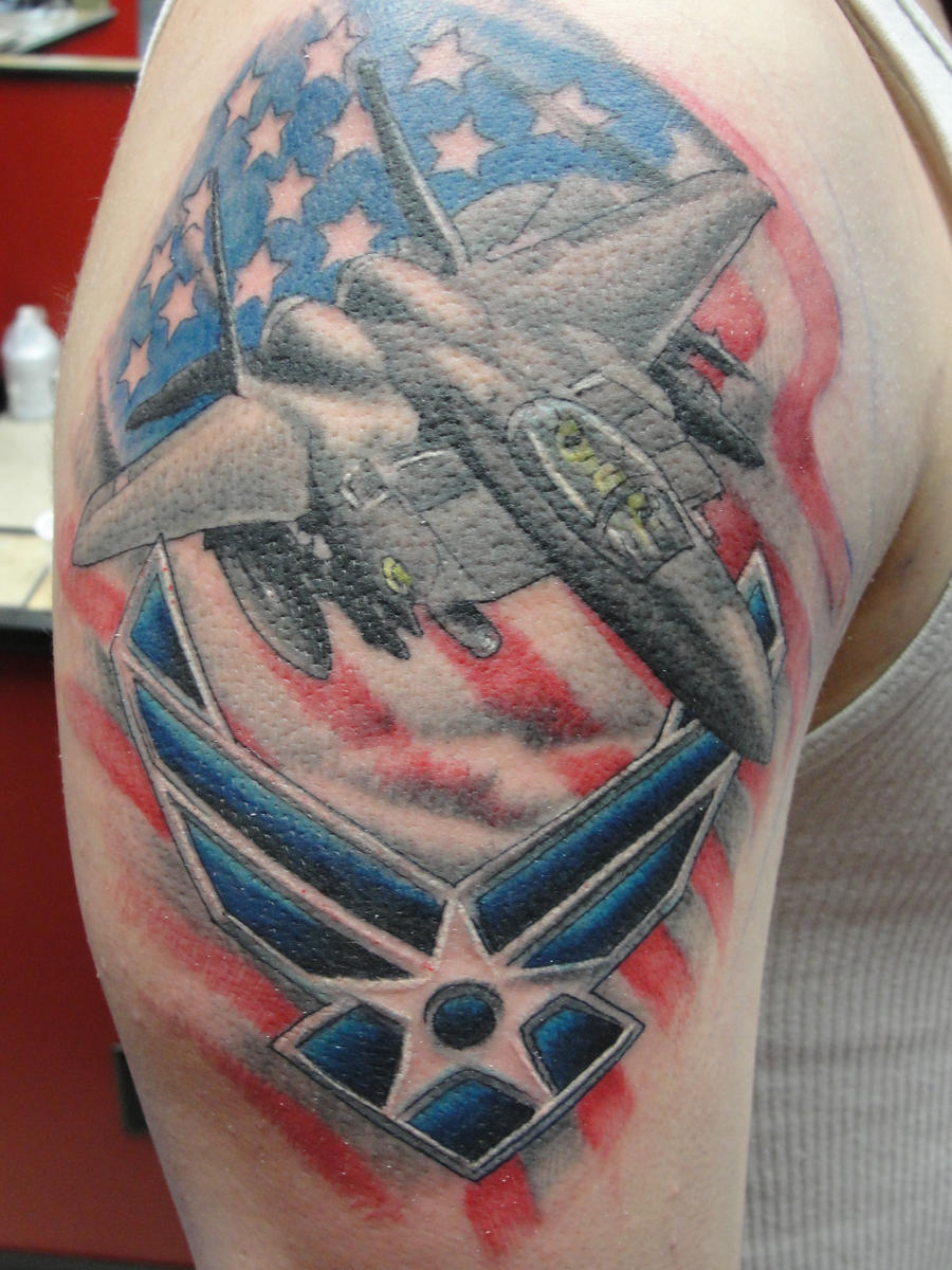 Airforce F14 Tattoo By Matt661977 On Deviantart Ideas And Designs