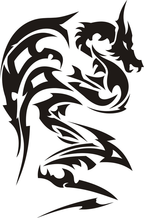 Tribal Dragon Tattoo Designs Gallery Zentrader Ideas And Designs