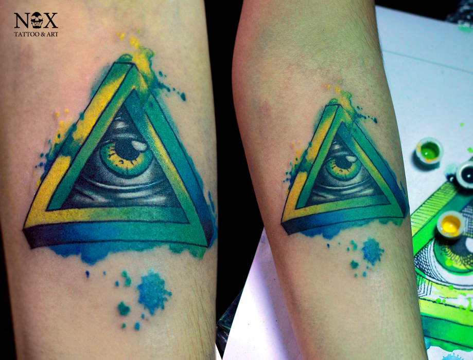 Watercolor Seeing Eye By Mattynox On Deviantart Ideas And Designs