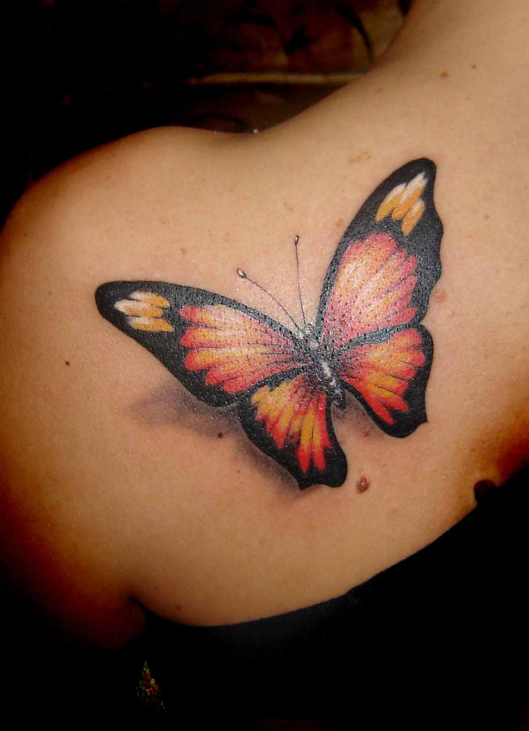 Butterfly Tattoos For Women Ideas And Designs