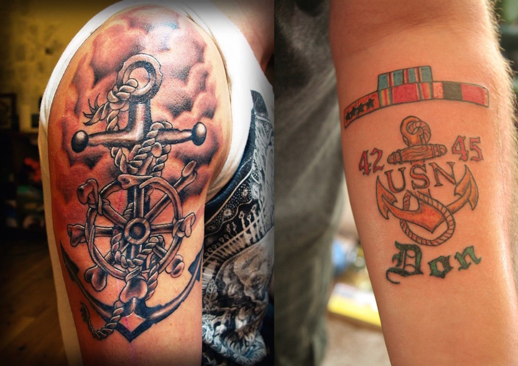 20 Navy Tattoos Which Will Make You Go Sailing Feed Ideas And Designs
