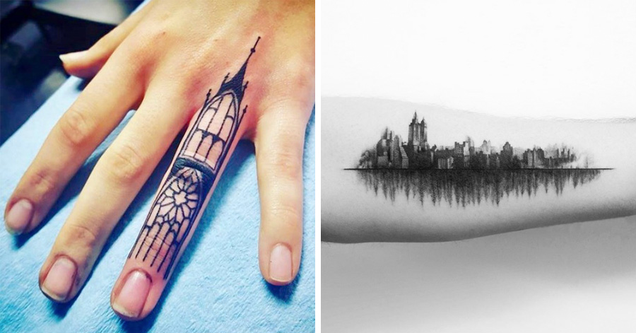 15 Architecture Inspired Tattoos That Will Make You Want Ideas And Designs
