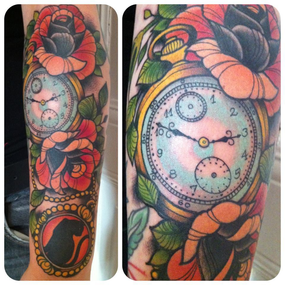 By Annie Frenzel At Lowbrow Tattoo Parlour Berlin Ideas And Designs