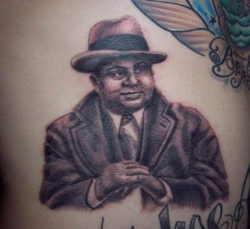 Al Capone Tattoo Joy Studio Design Gallery Best Design Ideas And Designs