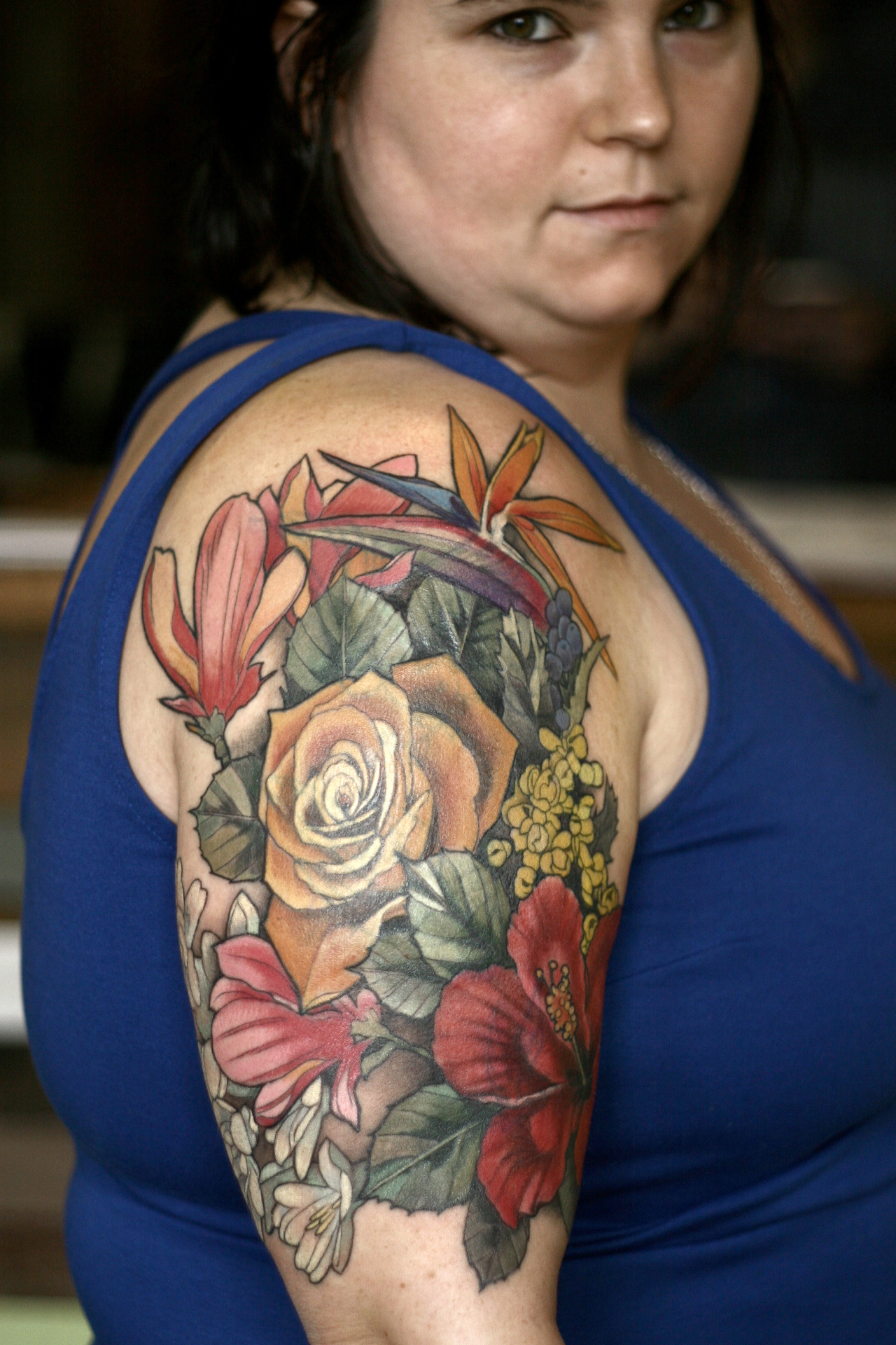 Wonderland Tattoos Floral Cover Up Tattoo By Alice Kendall Ideas And Designs