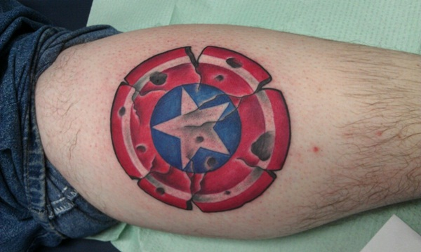 35 Captain America Tattoo Designs For Men And Women Ideas And Designs