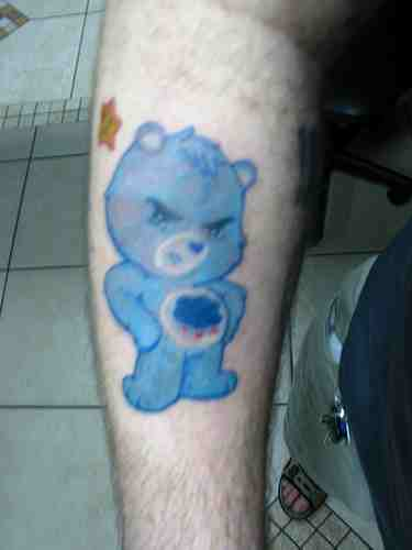 Care Bear Tattoos Cakehead Loves Evil Ideas And Designs