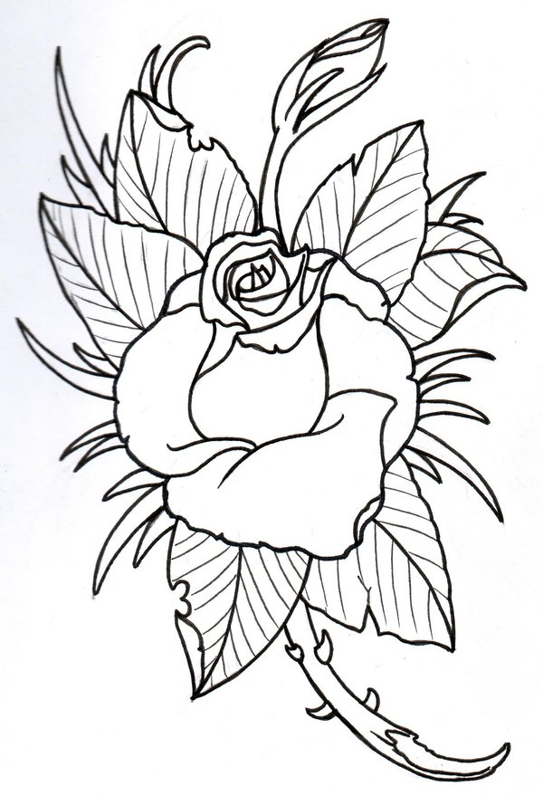 Free Roses Outline Download Free Clip Art Free Clip Art Ideas And Designs