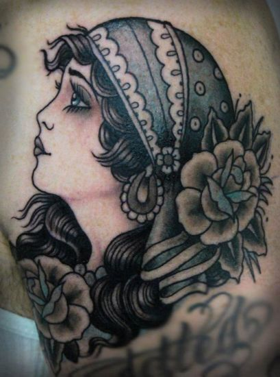 Top 9 Gypsy Tattoo Designs And Pictures Styles At Life Ideas And Designs