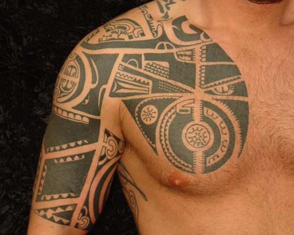 8Th Day Tattoo Marquesan Tattoo Style Ideas And Designs