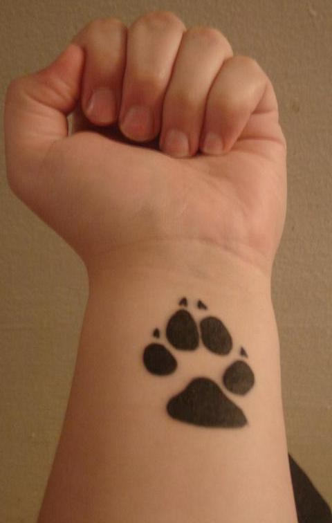 15 Playful Dog Paw Tattoos Tattoo Me Now Ideas And Designs