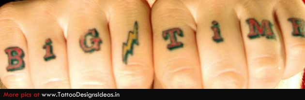 Cursor Tattoos On Finger Ideas And Designs