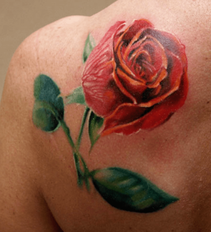 Rose Tattoo Images Designs Ideas And Designs