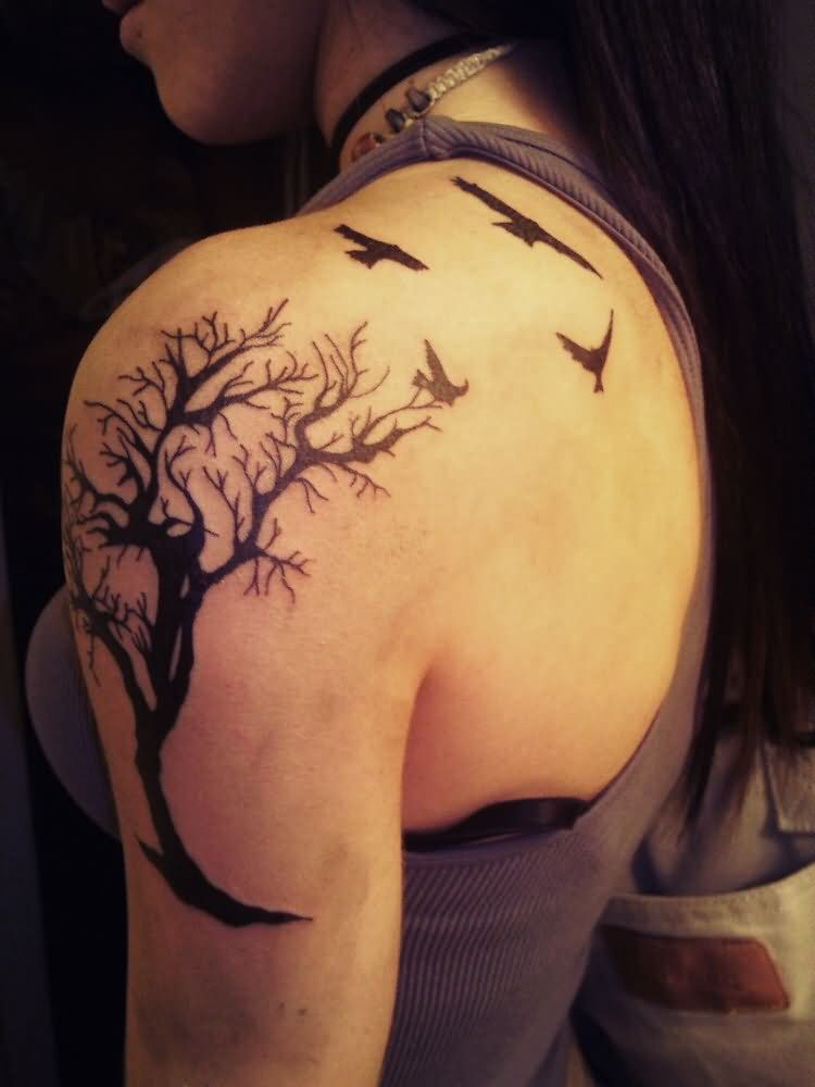 Tree Tattoo Images Designs Ideas And Designs