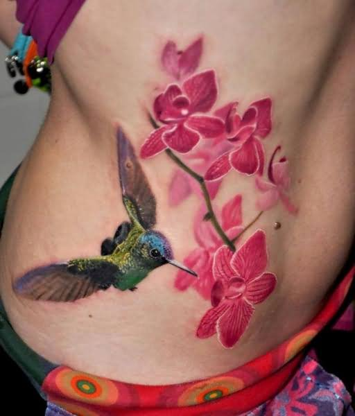 Hummingbird Tattoo For Girls By Nadelwerk Ideas And Designs