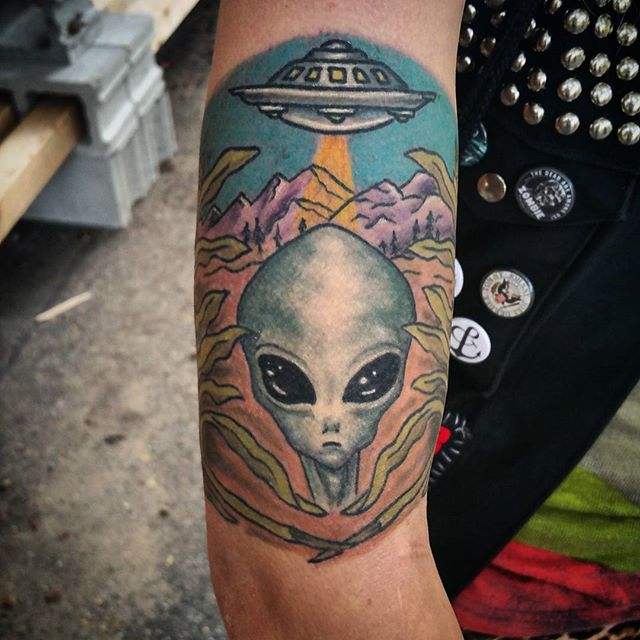 Alien Tattoo Images Designs Ideas And Designs
