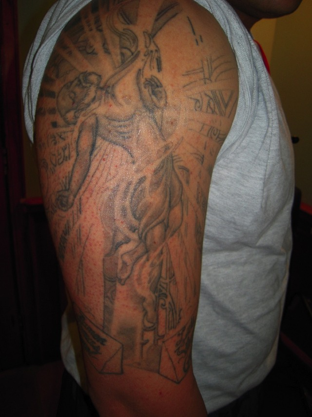 The Ink Of War Afghanistan Air Base S Best Tattoos Wired Ideas And Designs